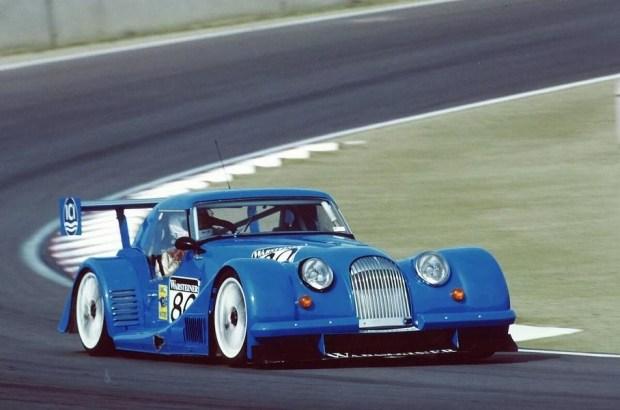 Morgan Plus 8 Big Blue