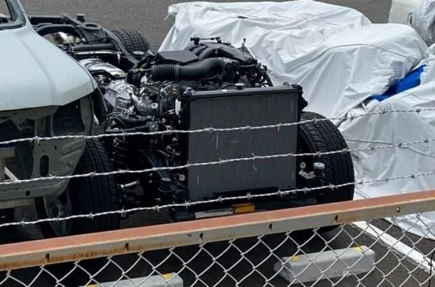 Рама нового Toyota Land Cruiser 300