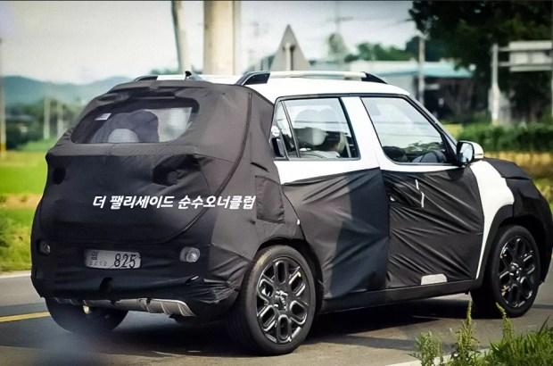 Габариты Hyundai Casper – 3595х1595х1575